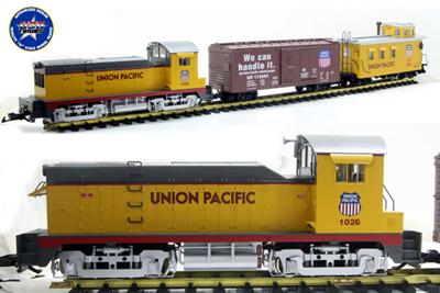 [USA Trains] 72305 NW-2 TRAIN SET..
