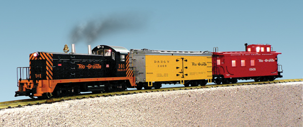 [USA Trains]72300 NW-2 TRAIN SET ..