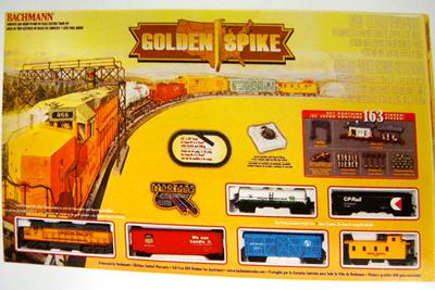 [BACHMANN]00615  GOLDEN SPIKE