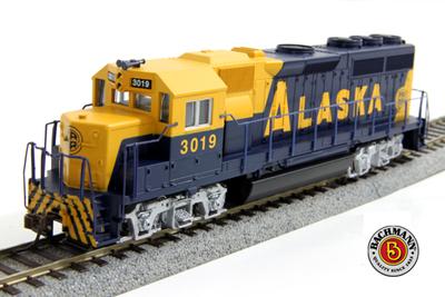 [BACHMANN]63510 EMD GP40 ALASKA